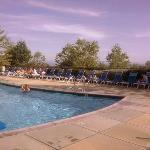 Pool view looking West
