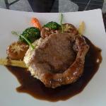 Yummy Sirloin Steak.