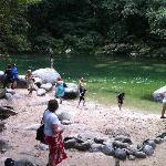 Swimming in Mossman Gorge
