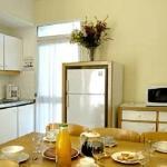 Cuisine séjour logement 5/6 personnes