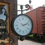 Clock at the station