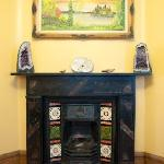 Our victorian fire place