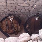 Momias, del cementerio en Nasca