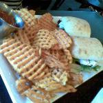 Crave Chicken Pesto sandwich