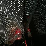 Deckenbeleuchtung / Lichtinstallation der Bar/Livingroom/Rezeptionsbereich
