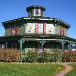 house at Genesee country village
