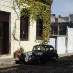 casario e carro antigos