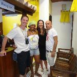 Javier y Florencia con Federico y Nancy