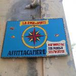 Street Marker for La Rosa dei Venti