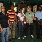 Group Photo at Bank of Jamaica Money Museum