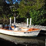 The resort hire boat