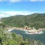 From the Knysna Heads, less than 10mins from the guest house