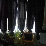 Way too many curtains