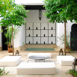 Plunge pool in the courtyard