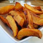 Bratkartoffeln zum Zwiebelrostbraten