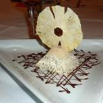 DESSERT: Honey & poppyseed parfait ... delicious