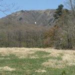 ふもとから見た中蒜山