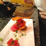 Tuna Tartar with Truffle Chili Oil