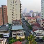 Phnom Penh from Top Floor