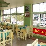Amoun - La sala, che affaccia verso il viale di Sfingi