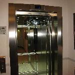 Lift to hotel lobby