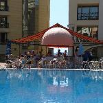 Top Pool and poolside Bar at the Royal Marina Palace