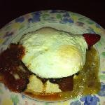 huevos rancheros was delish!!