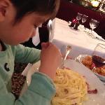 カルボナーラは自分で卵かけて粉チーズかけて混ぜる。料理とは言えないかな。。