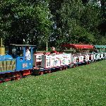 Kleinbahn im Rheinpark