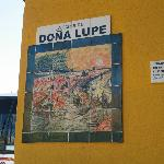 Entrance to La Casa de Dona Lupe