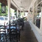 The Front Porch at Souther Comforts Cafe