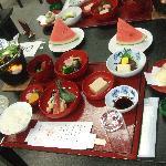 夕食(精進料理)