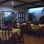 Dining area and front veranda