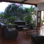 Lobby and veranda