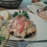 Portabello Mushroom with Crabcake