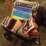 campfire package $60. recreating your youth on the beach… priceless!