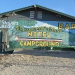 Entrance to Whispering Elms Motel