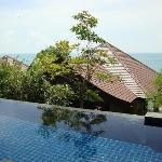 View from my villa's terrace