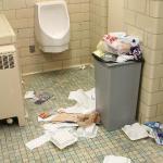 Nicely maintained bathroom facilities