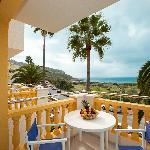 Balcón apartamento A1VM (1 dormitorio estándar con vista mar)