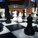 Patio chess