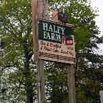 Haley Farm sign