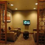 TV room in lobby