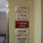 plaque des étages