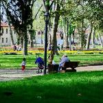 Gulhane park is a 5-minute walk