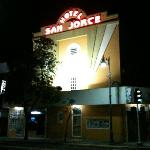 Hotel San Jorge Nighttime
