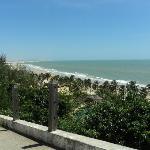 Vista da praia de Lagoinha, Ceará