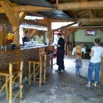 Restaurant im Innenhof