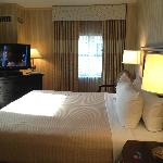 DC Crowne Plaza room on 11th floor
