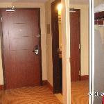 hallway entrance suite 218